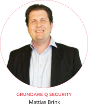 GRUNDARE Q SECURITY Mattias Brink